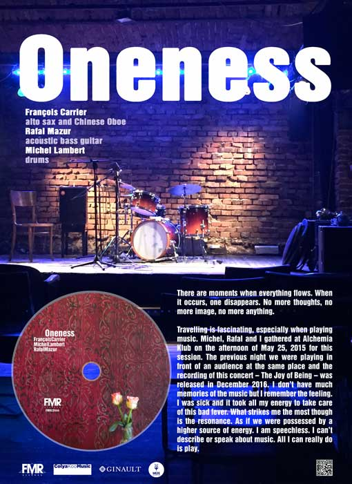 Oneness on FMR Records